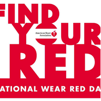 February 3 is National Wear Red Day